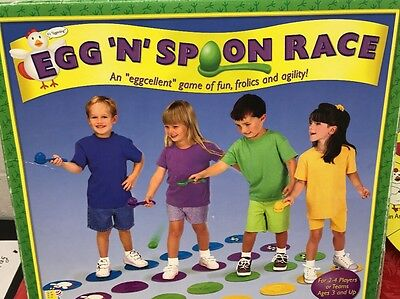 Egg and Spoon Race Game - 4 Eggs 2
