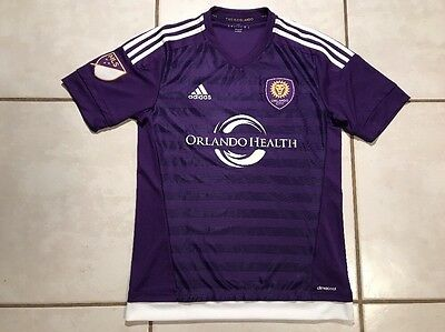 NWOT ADIDAS Orlando City SC 2015 MLS Soccer Jersey Men's  Small image