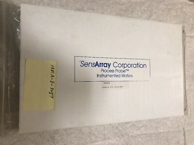Sensarray Corporation Processprobe Instrumented Wafers 1501a-8-5057