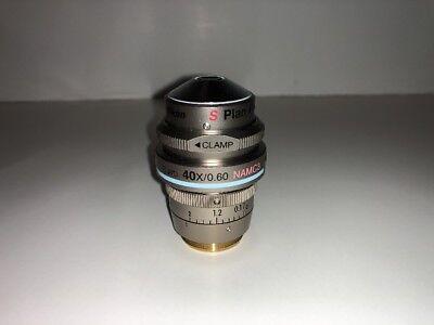 Nikon S Plan Fluor Elwd 40x0.60 Namc3 0-2 Wd 3.6-2.8