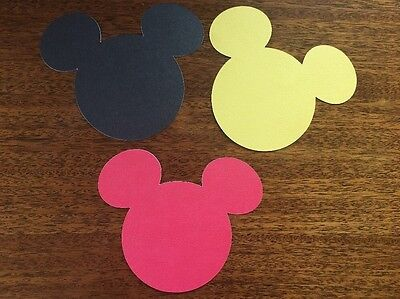 Mickey Mouse Cutouts (Mickey Mouse Heads Die Cut outs 5
