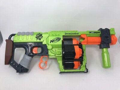 Nerf Doominator Zombie Strike Blaster Gun Euc