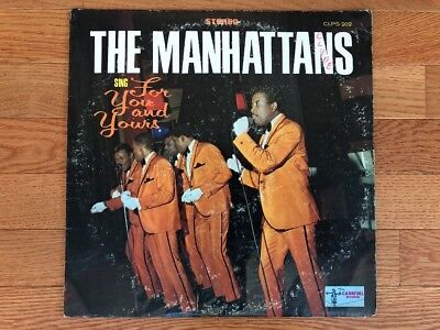The Manhattans    Sing For You And Yours 1969 Carnival Clps 202 Vinyl Vg Nm