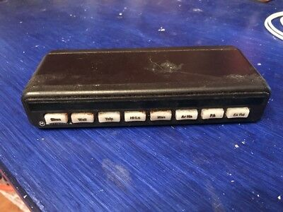 Motorola Wildcard Box Hln1241d Switch Box Lightbar Controller