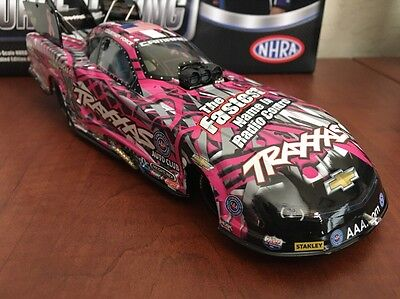 """2015 NHRA  Courtney Force """"PINK TRAXXAS CAMARO FUNNY CAR""""  1/24 Action"""