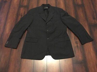 H&M Blazer Mens Sports Jacket Coat Suits Size 41S Short Fit Black