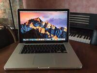 "Apple Macbook Pro 15"" A1286 2011 Intel Core i7-2635QM Quad-Core 160GB HDD / 8GB"