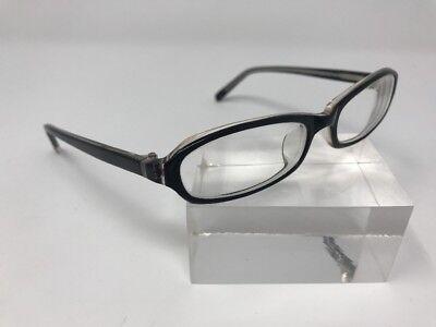 Eye Buy Direct Eyeglasses HT066 50-15-135 C13 Black Crystal Frames A905