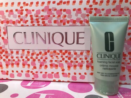 CLINIQUE FOAMING FACIAL SOAP VERY DRY TO COMBINATION OILY 1o
