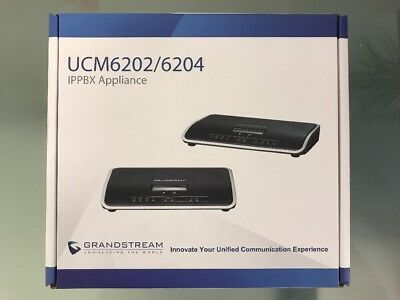 Brand New Grandstream Ucm6202 Ip Pbx-2 Port Brand Free Fast Shipping Usa