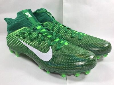 c0bc11401b6 Nike Vapor Untouchable 2 Football Cleats Pine Green Voltage SZ 13 (  824470-313 )