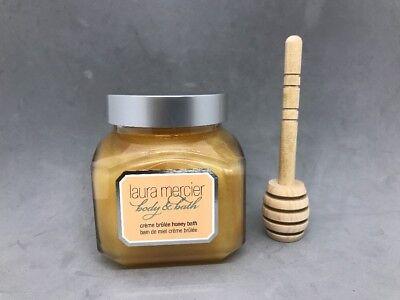 LAURA MERCIER Body & Bath Creme Brulee Honey Bath~6.7 OZ.