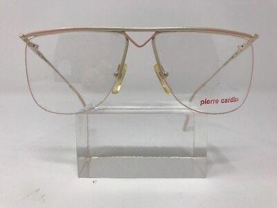 Pierre Cardin Eyeglasses CS.146 3 60-15-135 Italy Pink Half Rimless E54