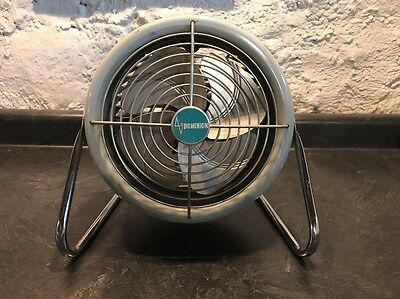 VINTAGE MCM  MID-CENTURY DOMINION ELECTRIC BULLET FAN MADE IN THE USA!