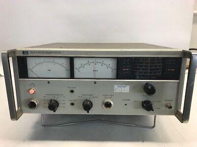 Hp Agilent 4815a 500 Khz To 108 Mhz Rf Vector Impedance Meter.