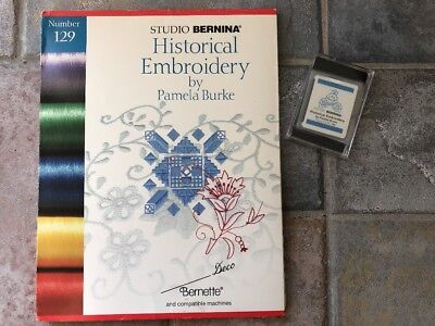 Bernina Deco Brother Babylock Historical Embroidery Designs Memory Card # 129 ()