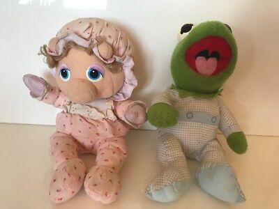 Muppet Show Babies Hasbro Kermit der Frosch und Miss Piggy