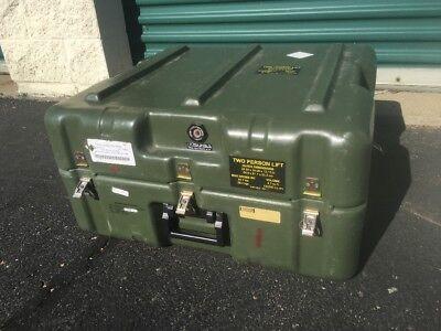 Hardigg Military Surplus Rugged Shipping Storage Case 26X24x13  Mts System Foam