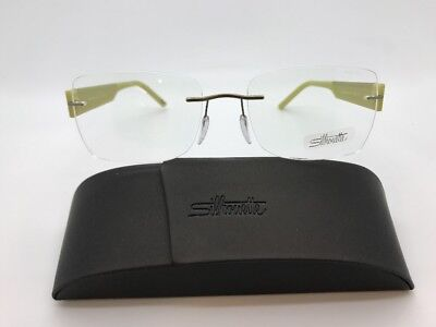 SILHOUETTE 4449 40 6051 4452 RIMLESS EYE GLASSES FRAMES EYEWEAR 54-17-140 NEW!!!