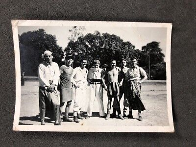 Vintage BW Real Photo #BP: Young Men Dressed Up Costumes Pints Of Beer 2 of 3](Pint Of Beer Costume)