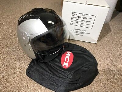 HCI Stars /& Stripes Open Face Motorcycle Helmet with Face Shield 15-710