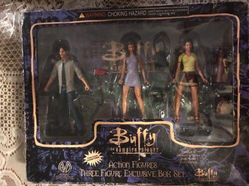 Buffy The Vampire Slayer Exclusive 3 Figure Set! Xander Cordelia - NIB - READ