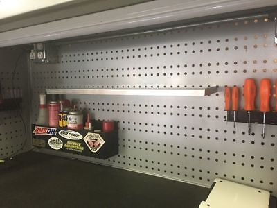 Stainless Shelf For 20 Ga Wall Control Peg Board Read Description