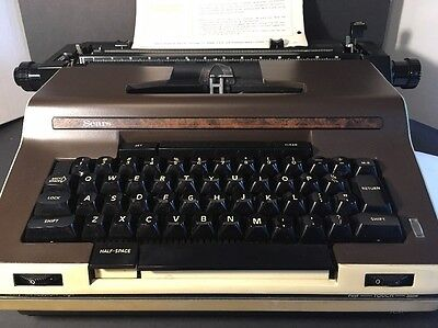 Vintage Sears Electronic Communicator Word Processor Typewriter Works Great
