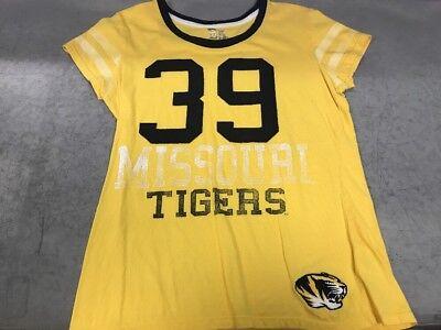 E5 College Classics Womens Missouri Tigers 39 Short Sleeeve Large T Shirt