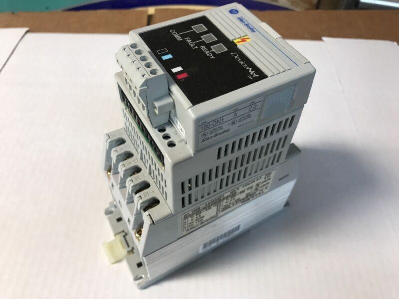 Allen Bradley 160S-AA02NSF1 0.5HP Analog S.F. Controller Ser B w/ 160-DN1 Module