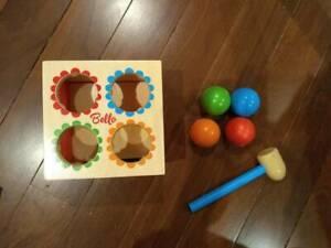 Bello Hammer Ball - wooden toy