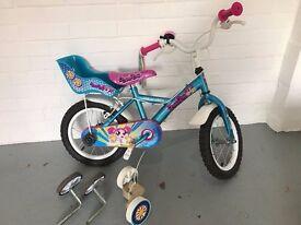 """Apollo PomPom Girls Bike 14"""" Wheel"""