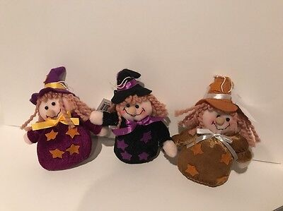 Small Beans Halloween (Halloween Witches Small Bean Bag Set Of 3)