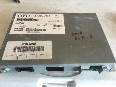 2008 Audi A6 S6 SIRIUS Satellite SAT Radio Receiver Tuner OEM