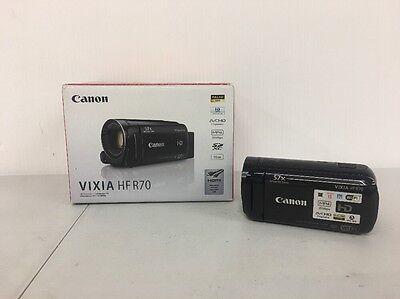 Canon VIXIA HF R70 16 GB Camcorder Video Camera - Black