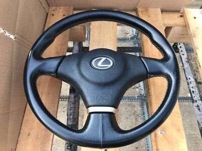 99-05 LEXUS IS200 SMOOTH LEATHER STEERING WHEEL A/BAG LIMITED EDITION 40k