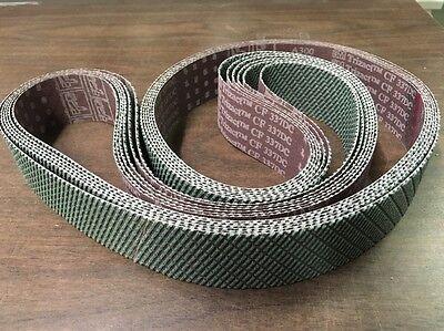"2"" x 72"" 3M 337DC A30 Trizact Gator Aluminum Oxide Abrasive Belt (3pcs)"