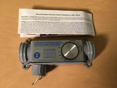 NEW Weather Miser Sprinkler Watering Rain Sensor Station