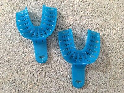 Autoclavable Dental Impression Trays 4 Med Lower 12pcs