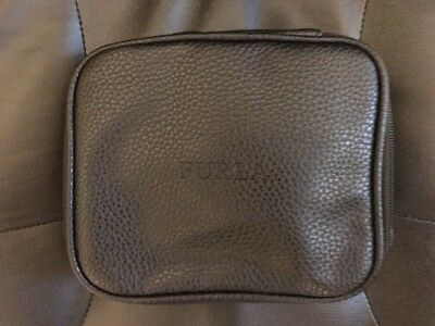 New Unopened Turkish Airlines Furla Business Class Black Amenity Kit