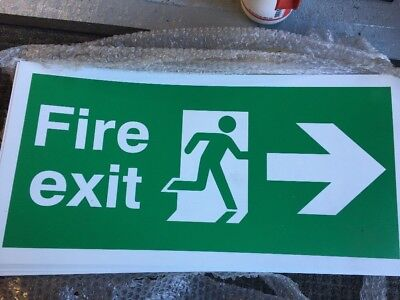 Fire Exit Signs X24