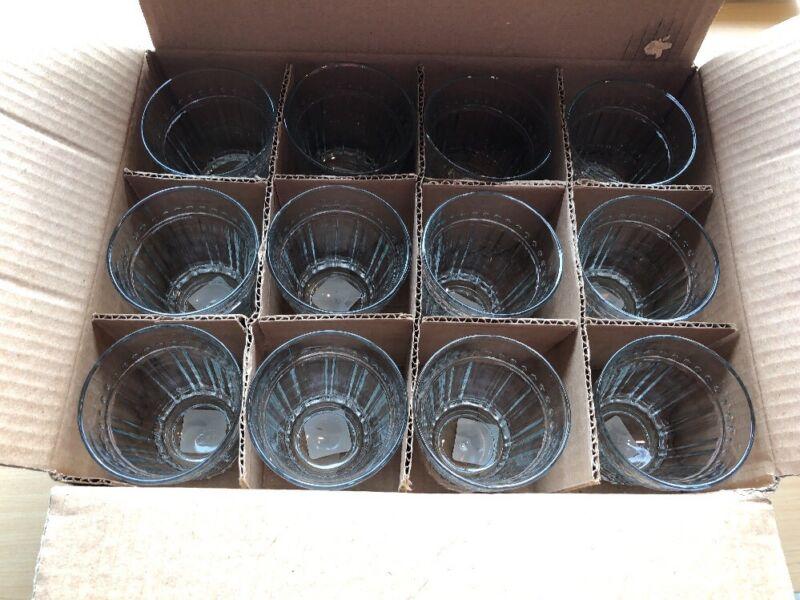 Anchor Hocking Isabella Flat 12 oz. Tumbler - Set of 12 Glasses