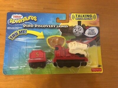 Thomas & Friends Adventures Dino Discovery James,Talking Metal Engine,NEW,DXT45