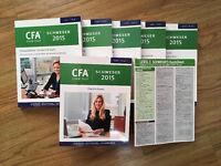 CFA Level 1 2015 Notes - Kaplan Schweser Package (inc Quicksheet & 6 Full Practice Exams)