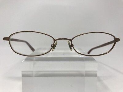 Jones New York Eyeglasses J115 49-18-135 Bronze/Marble Oval 5830