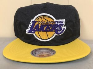 Brand New Mitchell & Ness Los Angeles Lakers Zipback One Size Fits All NT91Z
