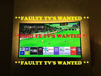 "Damaged, Non working 32"" and above TV's and more wanted - Please read ad"