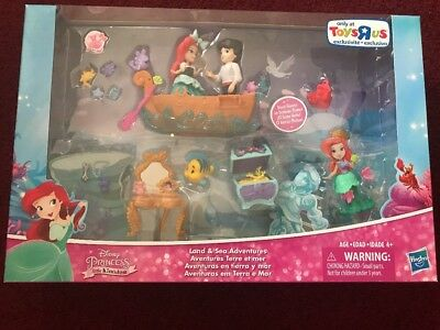 Disney Ariel Princess Little Mermaid Kingdom Toys R Us Land & Sea Adventures