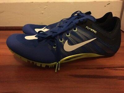 huge discount 29b1e 039a3 Nike Zoom Ja Fly 2 Track Spikes Mens Sz 14 RARE Blue Green 705373-413 NNB