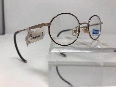 Fisher Price Quality Flex Hinge Demo Lens Amber Matte Eyeglasses 40-17-130 (Eyeglasses Lenses Price)